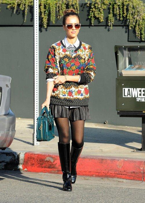 Jessica Alba in L.A.