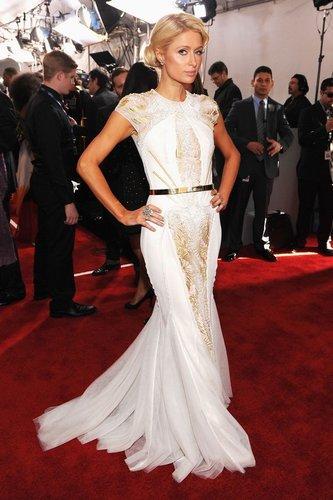Paris Hilton: Grammys 2012