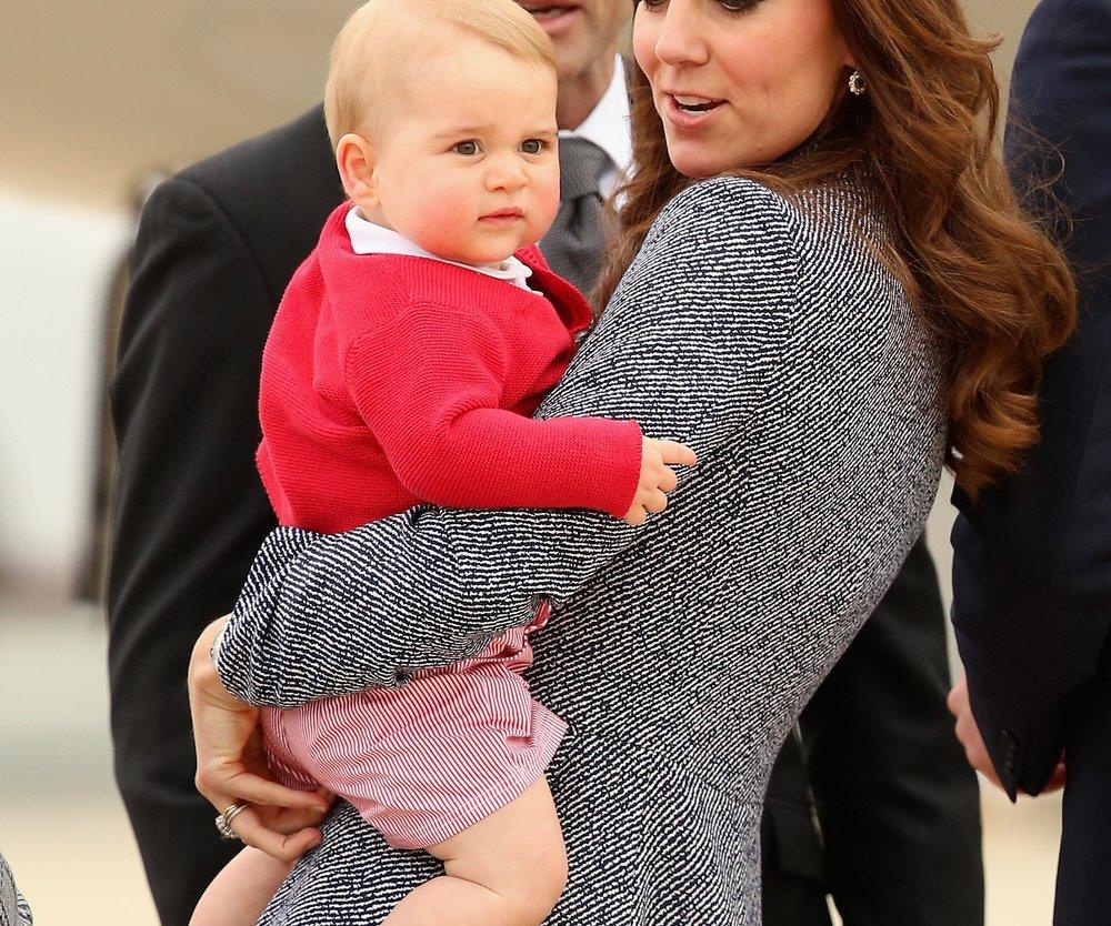 Prinz George liebt das iPad