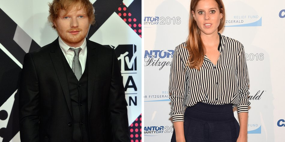 161128_EL News_Ed Sheeran und Prinzessin Beatrice_Anthony Harvey_Getty Images for MTV-494230838_Jamie McCarthy_Getty Images for Cantor Fitzgerald-603138906