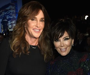 NEW YORK, NY - NOVEMBER 10: Caitlyn Jenner and Kris Jenner attend the 2015 Victoria's Secret Fashion Show at Lexington Avenue Armory on November 10, 2015 in New York City. (Photo by Dimitrios Kambouris/Getty Images for Victoria's Secret)