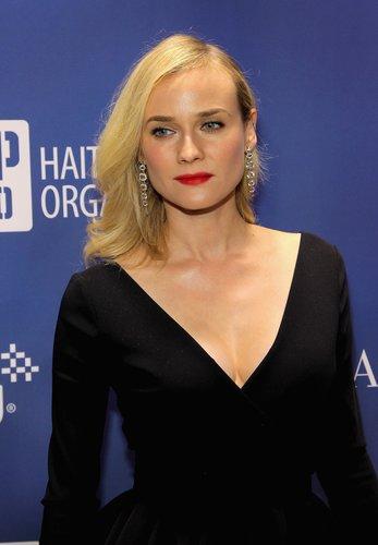 Diane Kruger: Sleek Wellen