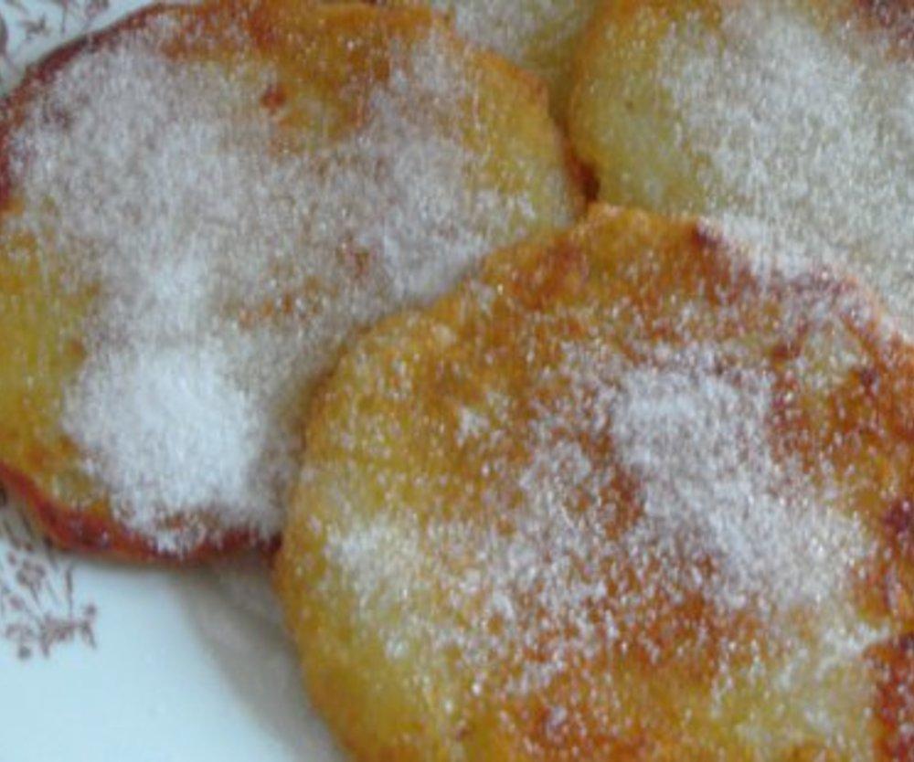 Puffer mit Zucker