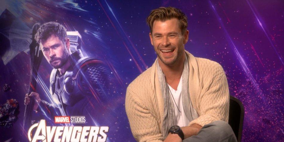 Avengers Endgame Chris Hemsworth