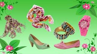 Accessoires in Trendfarben