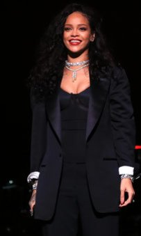 Rihanna bei einem Auftritt