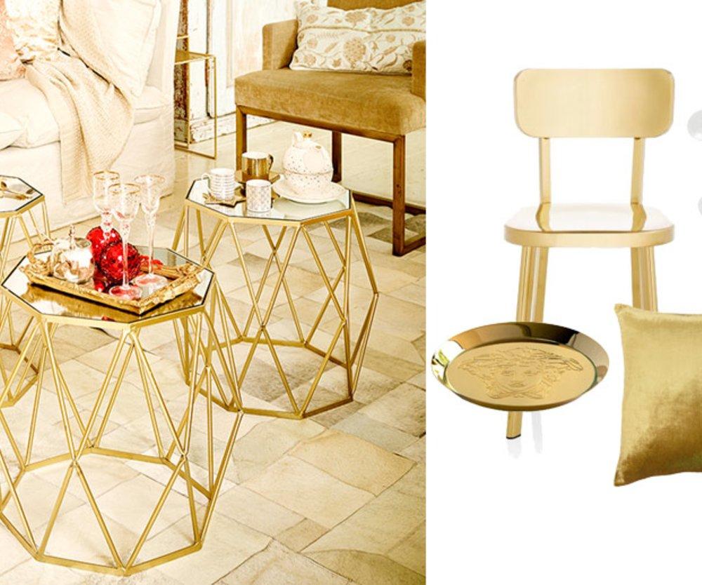 Goldene Momente: Die schönsten Accessoires in Gold für Ihr Zuhause ...