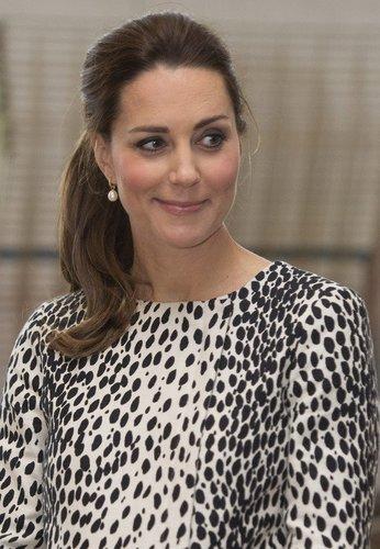 Kate Middleton mit Pferdeschwanz