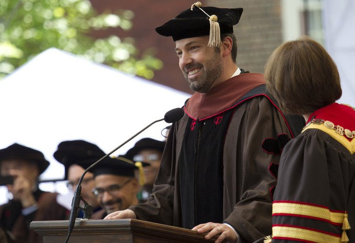 Ben Affleck wird zum Ehrendoktor ernannt