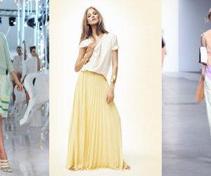 Trendfarben für den Frühling 2012