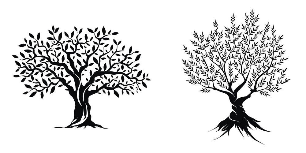 18 tolle Vorlagen für dein Baum-Tattoo