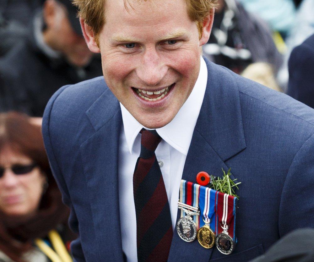 Prinz Harry ist stolzer Onkel
