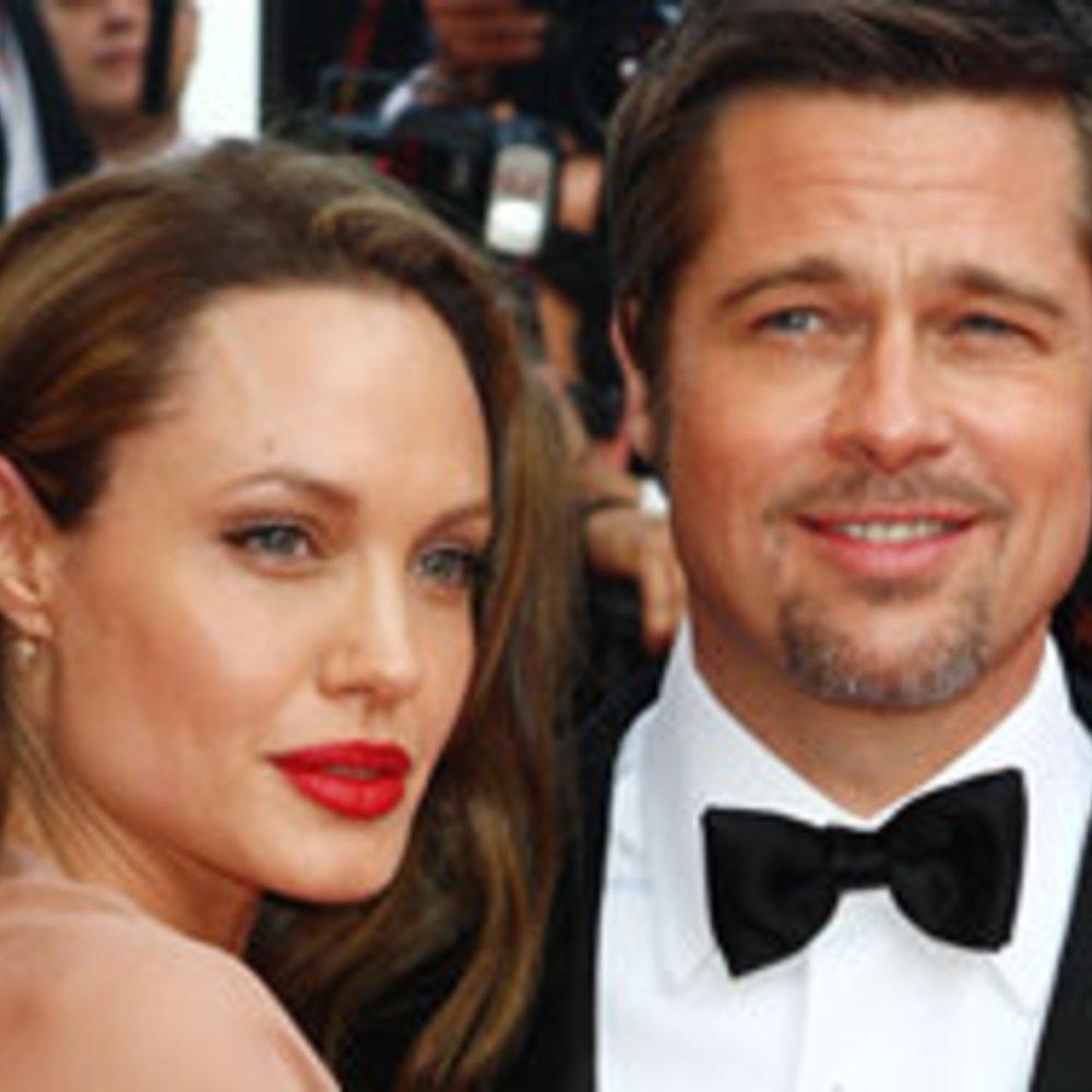 Brad Pitt kuschelt mit Angelina Jolie