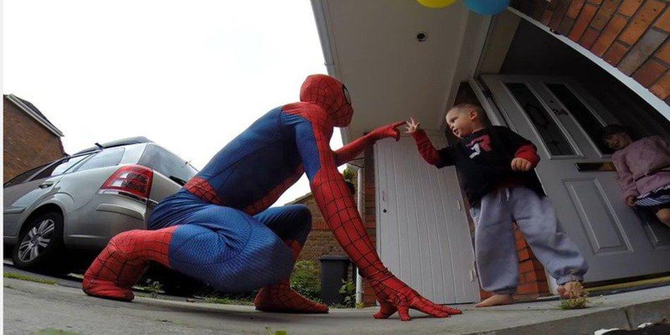 Sohn vom Spiderman Dad ist verstorben