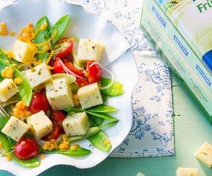 MILRAM Frühlingssalat mit Zuckerschoten