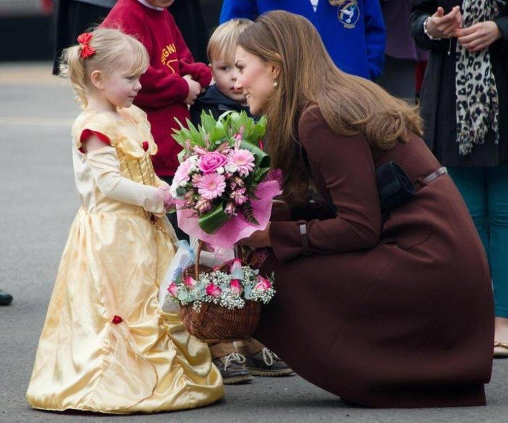 Herzogin Kate: Ein Mädchen?