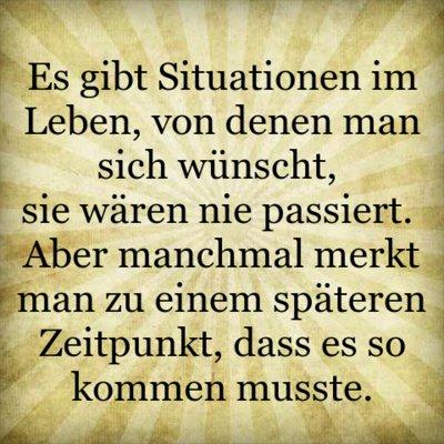 Es gibt Situationen im Leben, von denen man sich wünscht, sie wären ...