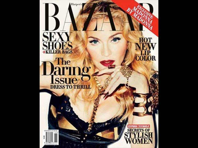 Cover Harper's Bazaar Madonna