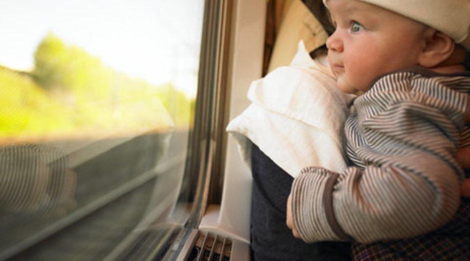 Baby kam im Zug zur Welt