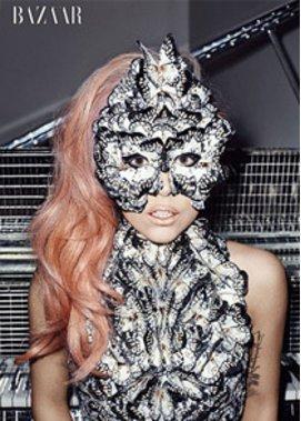 Lady Gaga wurde von Alexander McQueen geleitet