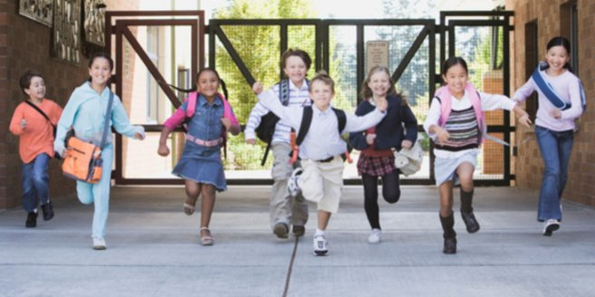 In der 3. Klasse wird mehr Wert auf Gruppenarbeit gelegt.