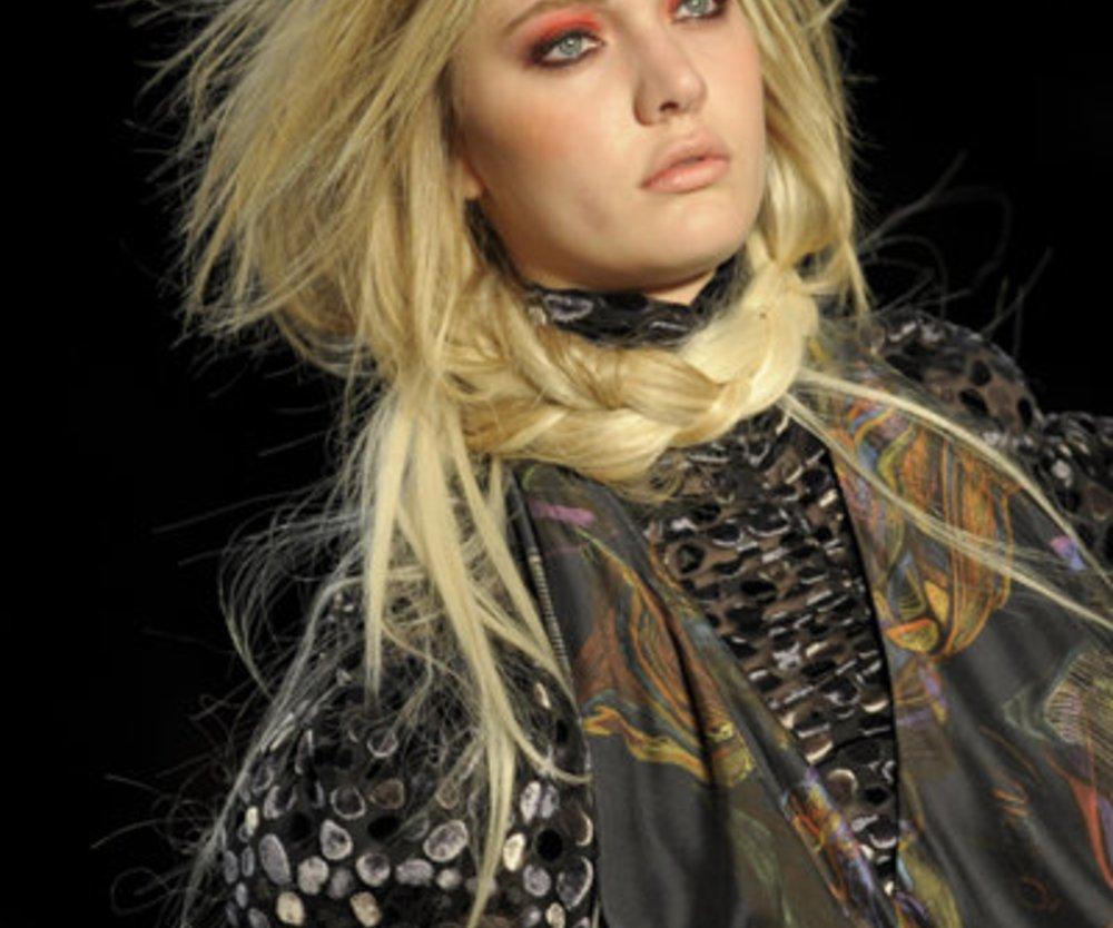Fashion Show des brasilianischen Labels Amapo auf der Fashion Week Sao Paulo im Januar 2011.