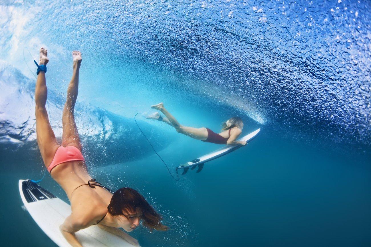 Surfer-Girls