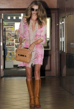 Rosie Huntington-Whitely ist Trendsetterin.