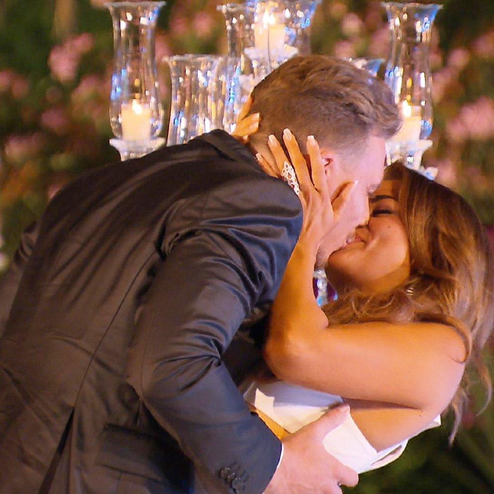 Die letzte Rose und Jessicas Herz gehören David.