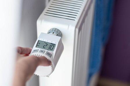 Richtig heizen und lüften Thermostat