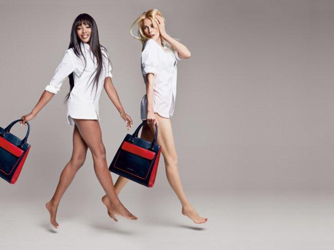 BHI Bag Tommy Hilfiger Naomi Campbell und Claudia Schiffer