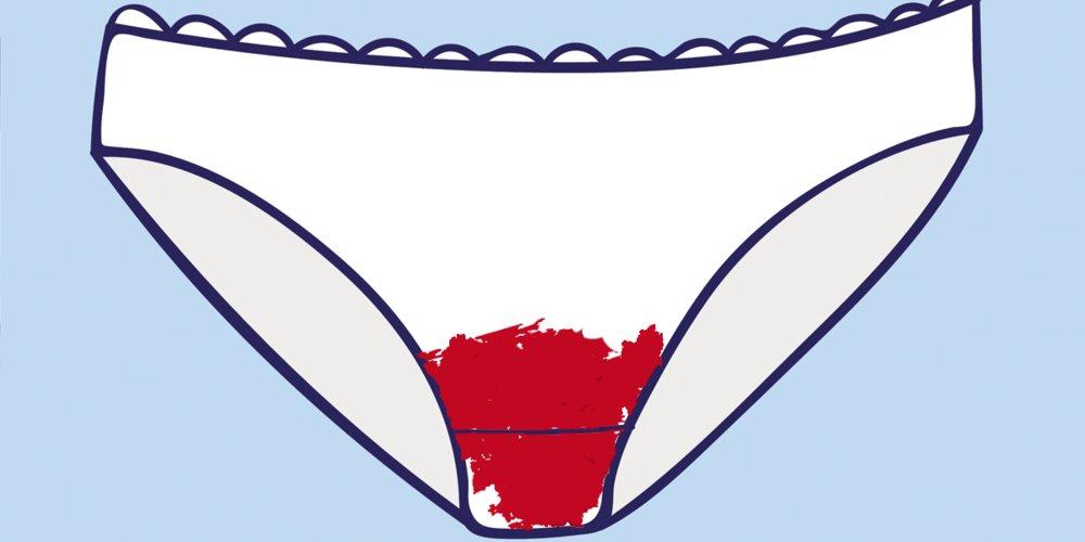 Die Farbe der Menstruationsblutung gibt uns wichtige Hinweis darauf, wie es um unsere Gesundheit bestellt ist. So deutest du die Farbe deines Periodenbluts!