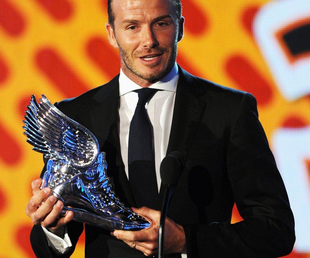 David Beckham bekommt Preis