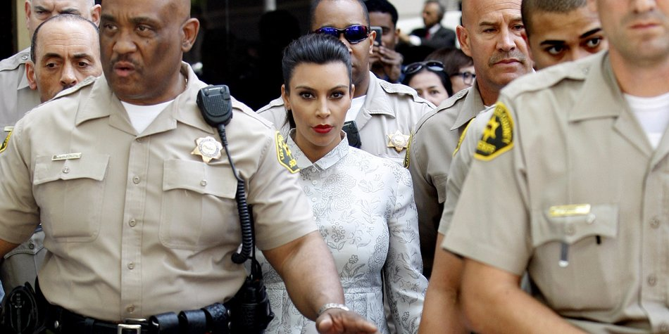 Kim Kardashian: Gefährdet ihre Scheidung das Baby?