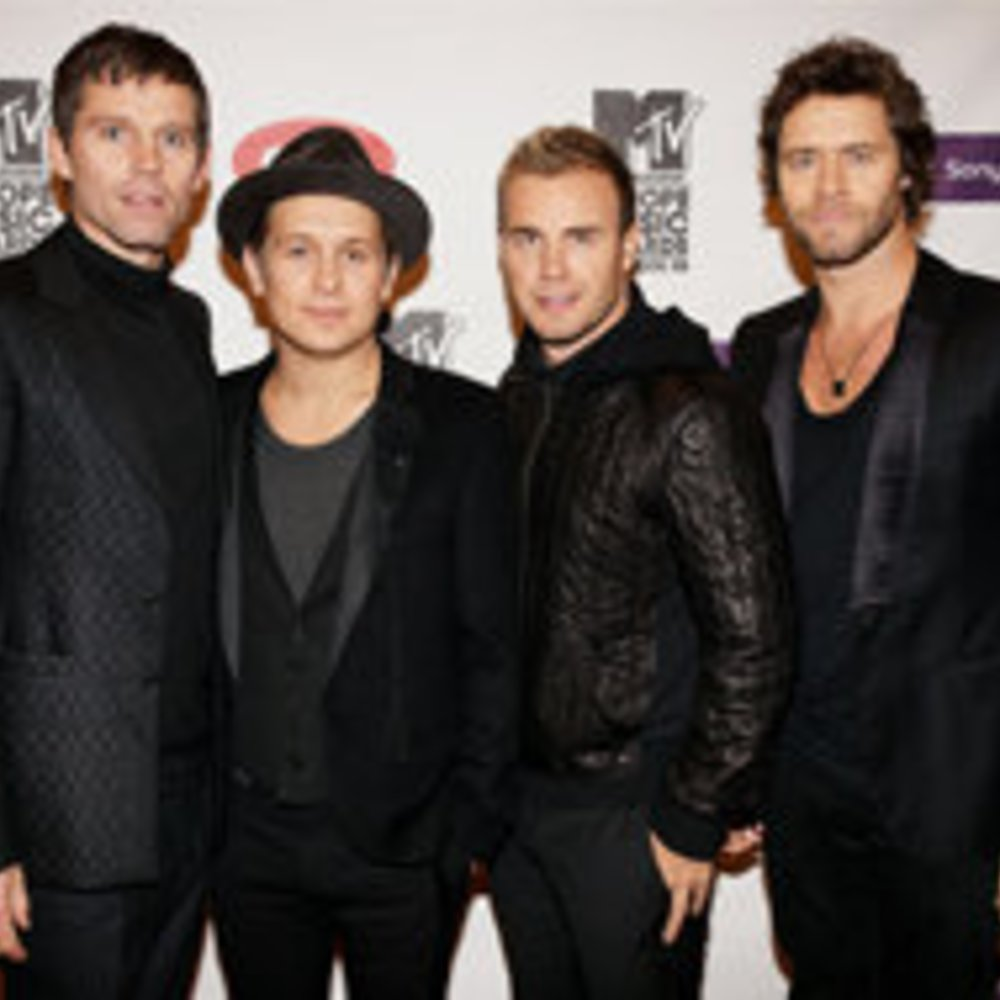 Take That-Mitglied Mark Owen trifft Frau und Kinder wieder
