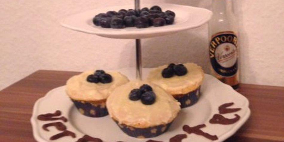 Blueberry Muffins mit Verpoorten original