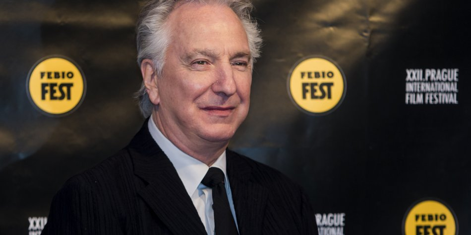 PRAGUE, CZECH REPUBLIC - MARCH 19: Alan Rickman arrives at the opening ceremony during the Febiofest Prague International Film Festival on March 19, 2015 in Prague, Czech Republic. (Photo by Matej Divizna/Getty Images)