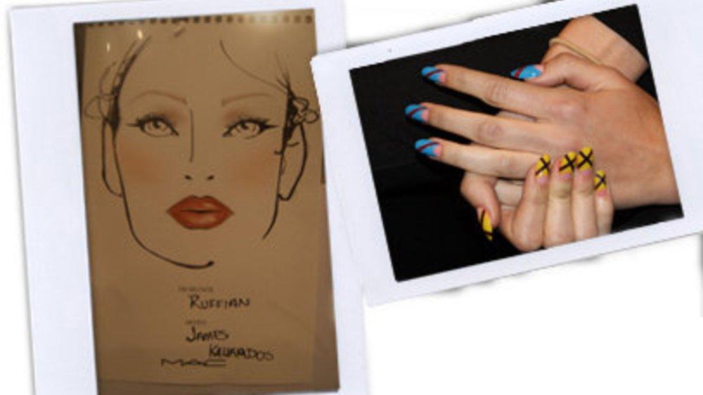 New York Fashion Week Backstage: Ruffian