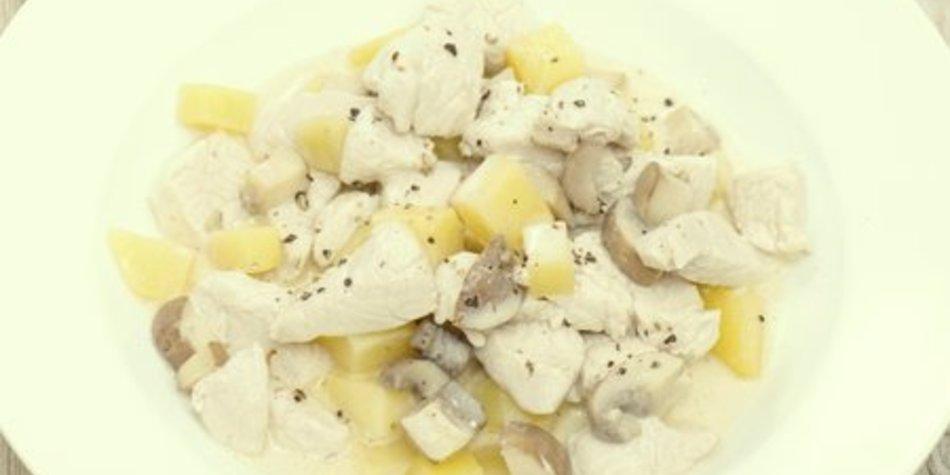 Putengeschnetzeltes mit Champignons