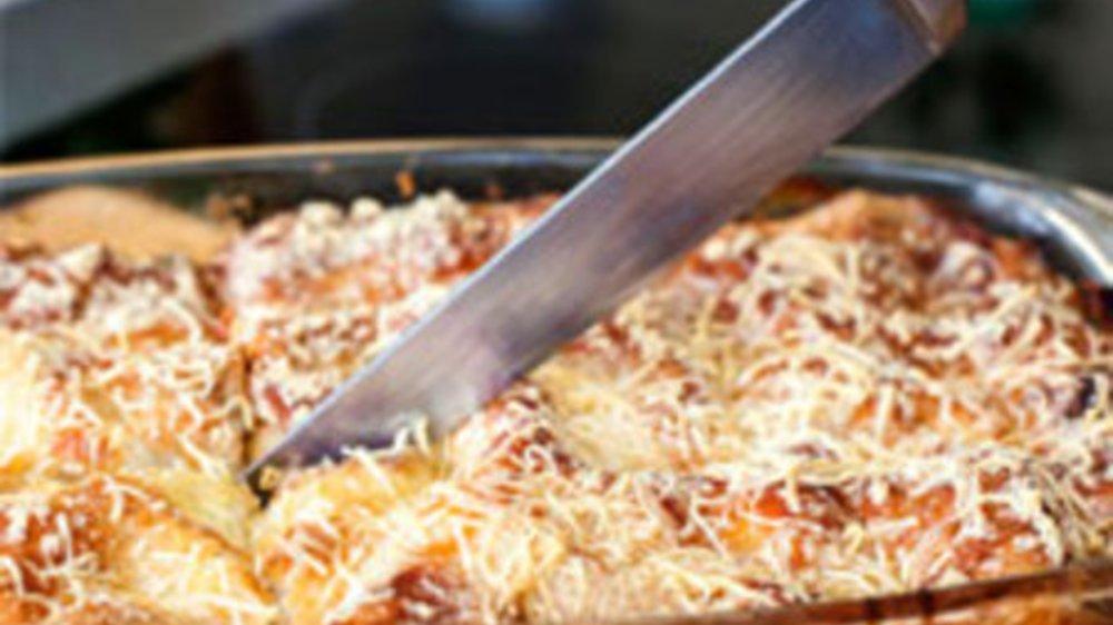 Lasagne aus dem Dampfgarer