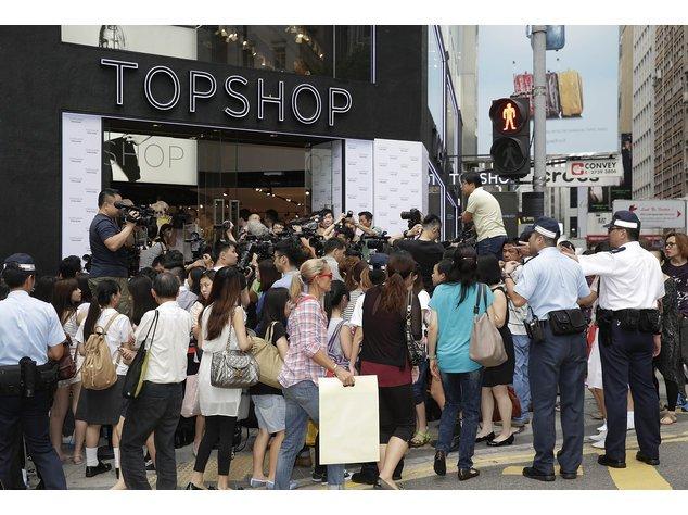 Topshop wird an vier Verkaufspunkten seine Mode anbieten