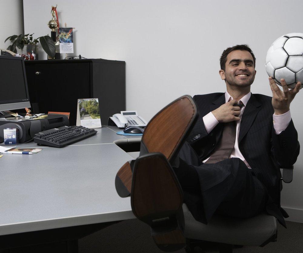 WM im Büro? Nur mit Erlaubnis des Chefs!
