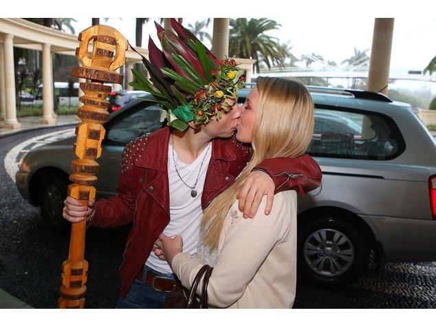 Dschungelcamp: Joey Heindle mit seiner Freundin Jacqueline