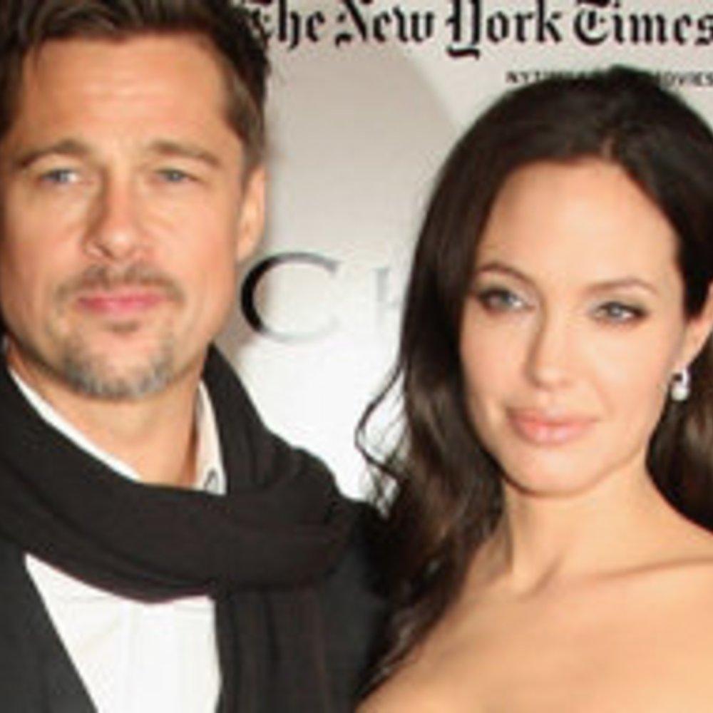 Brad Pitt und Angelina Jolie: Wellness mit der Familie
