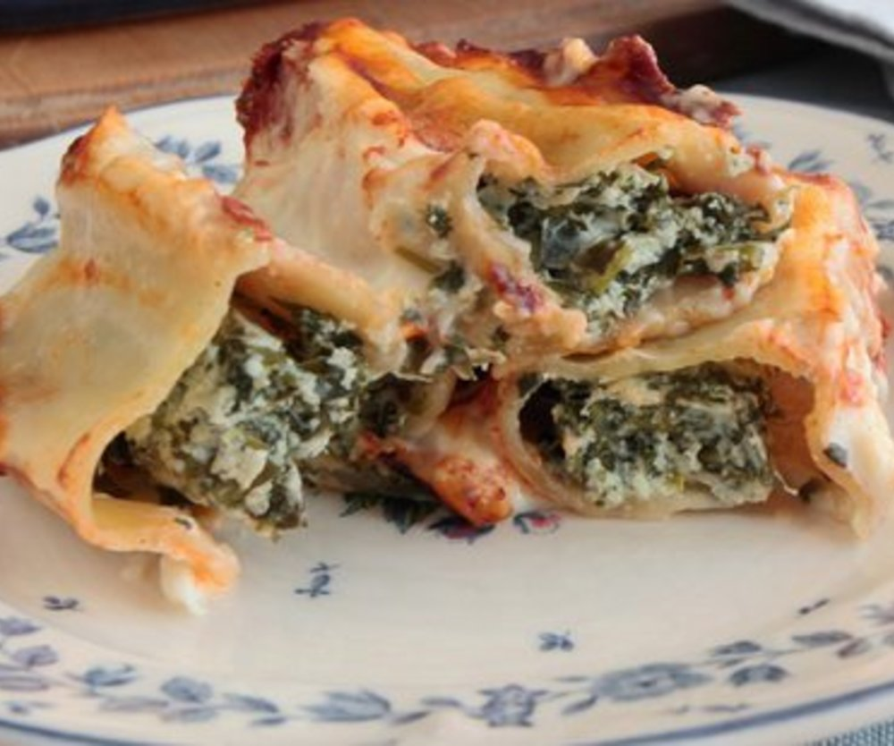 Cannelloni Spinat