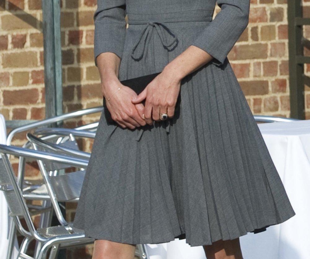 Kate Middleton ist wieder schlank!
