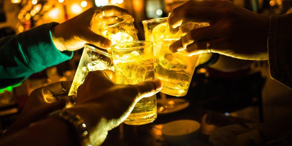 Beer toast