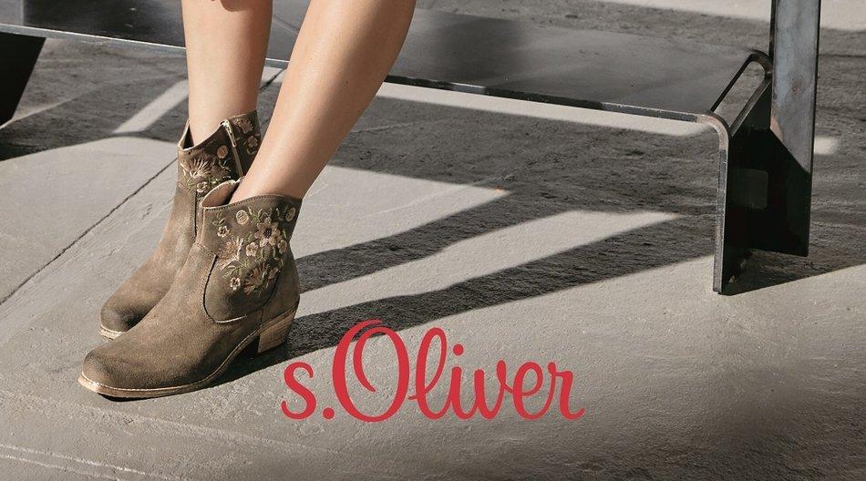 Gewinne tolle Schuhe aus der s.Oliver Festival-Kollektion.
