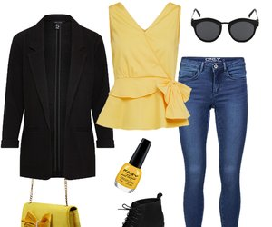 Outfit des Tages: Ein Spritzer Farbe