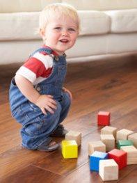 Spielzeug fördert die Kreativität.
